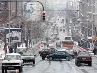 Sneg u BG. Ovo je Ulica Kneza Miloša
