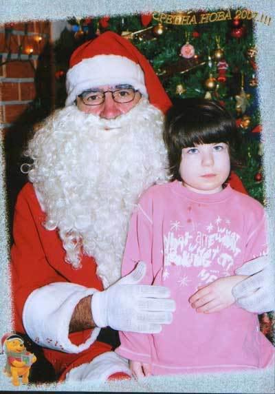 Deda Mraz u vrtiću