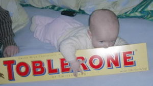 A mogu i toblerone pride...