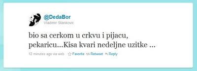 DedaBor na twitteru jutros