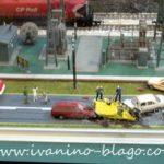 Lice mesta saobraćajne nezgode, i tragovi kočenja... kočnice imaju abs :)
